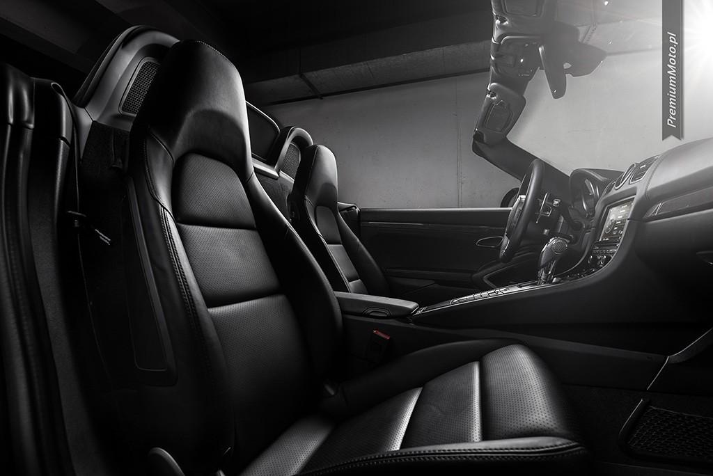Porsche Boxster S fotele