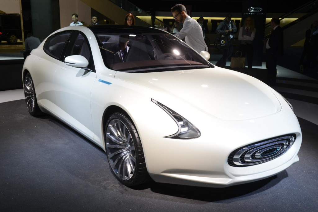 Thunder Power EV Concept Frankfurt 2015