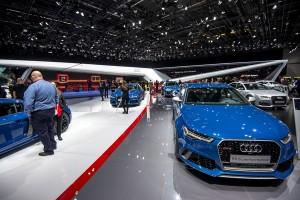 Audi at Geneva motor show 2016