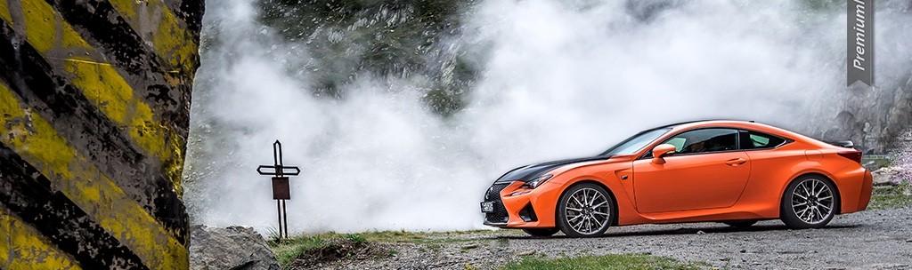 Trasa Transfogarska i Lexus RC-F Carbon