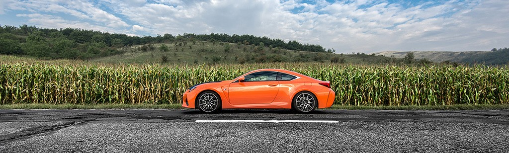 Lexus RC-F Carbon profil
