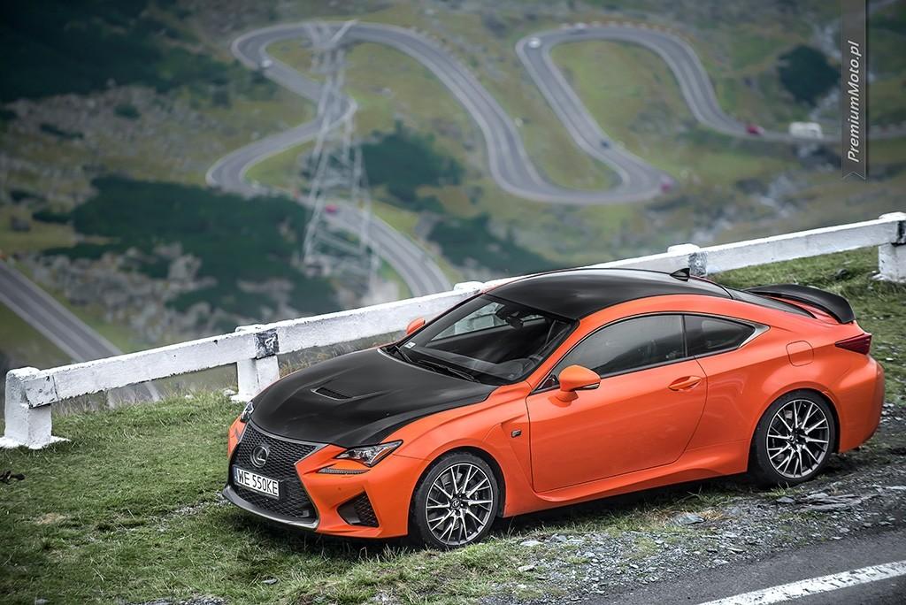 Lexus RC-F Carbon transfogarska