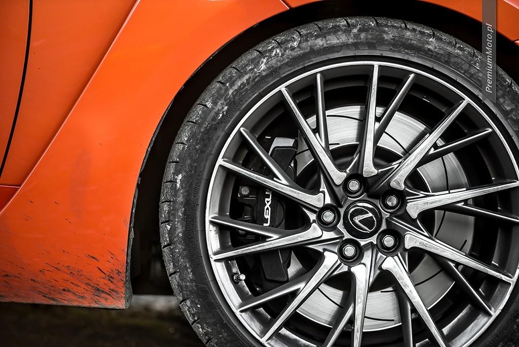 Lexus RC-F Carbon felga