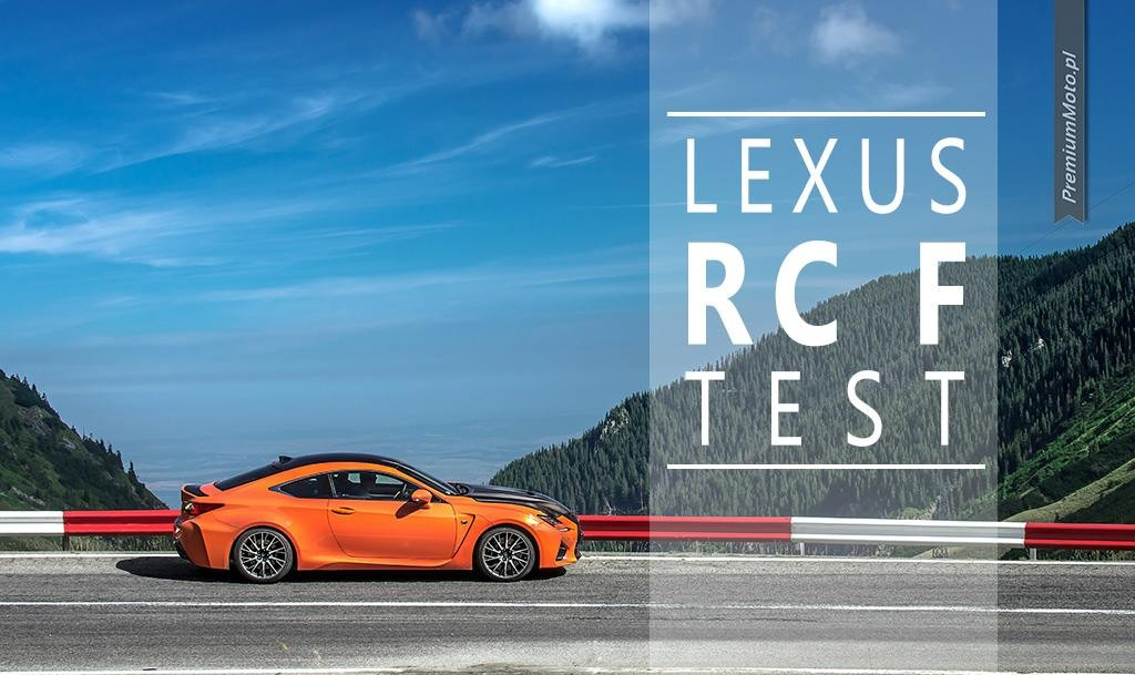 Lexus RC F test