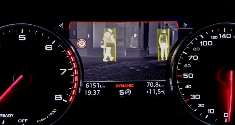 audi night view assist