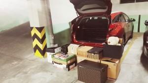 Honda Civic Tourer bagaznik