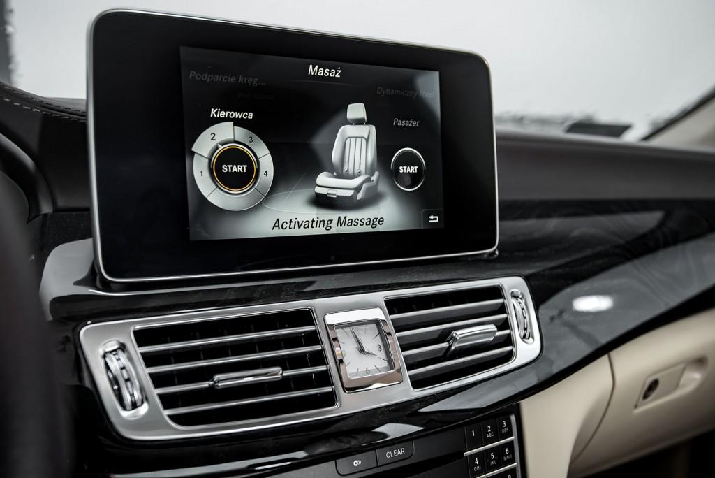Mercedes CLS wnętrze