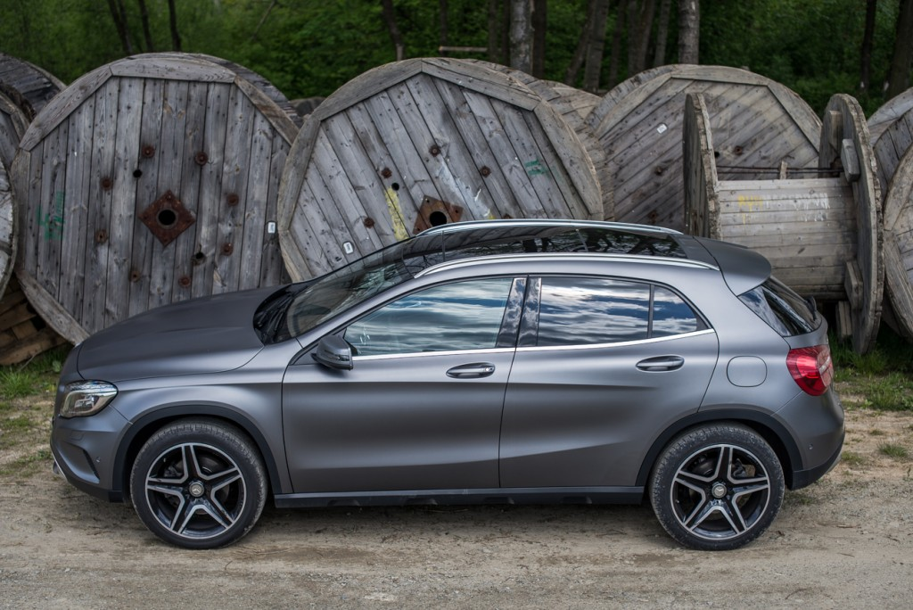 mercedes benz gla 250 4matic test i opinia. Black Bedroom Furniture Sets. Home Design Ideas