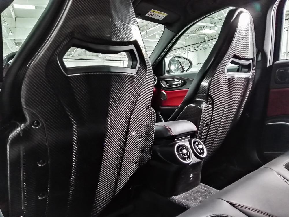 Alfa Giulia Q fotele
