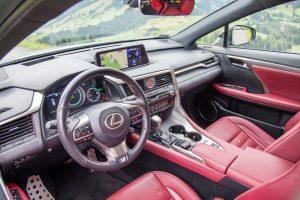 Lexus RX450h - wnętrze