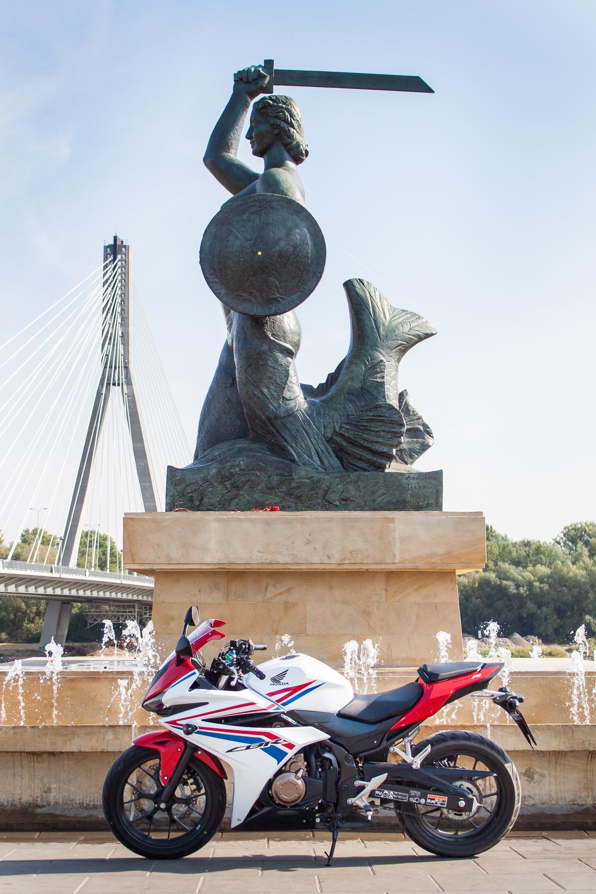 Honda CBR500R warszawa
