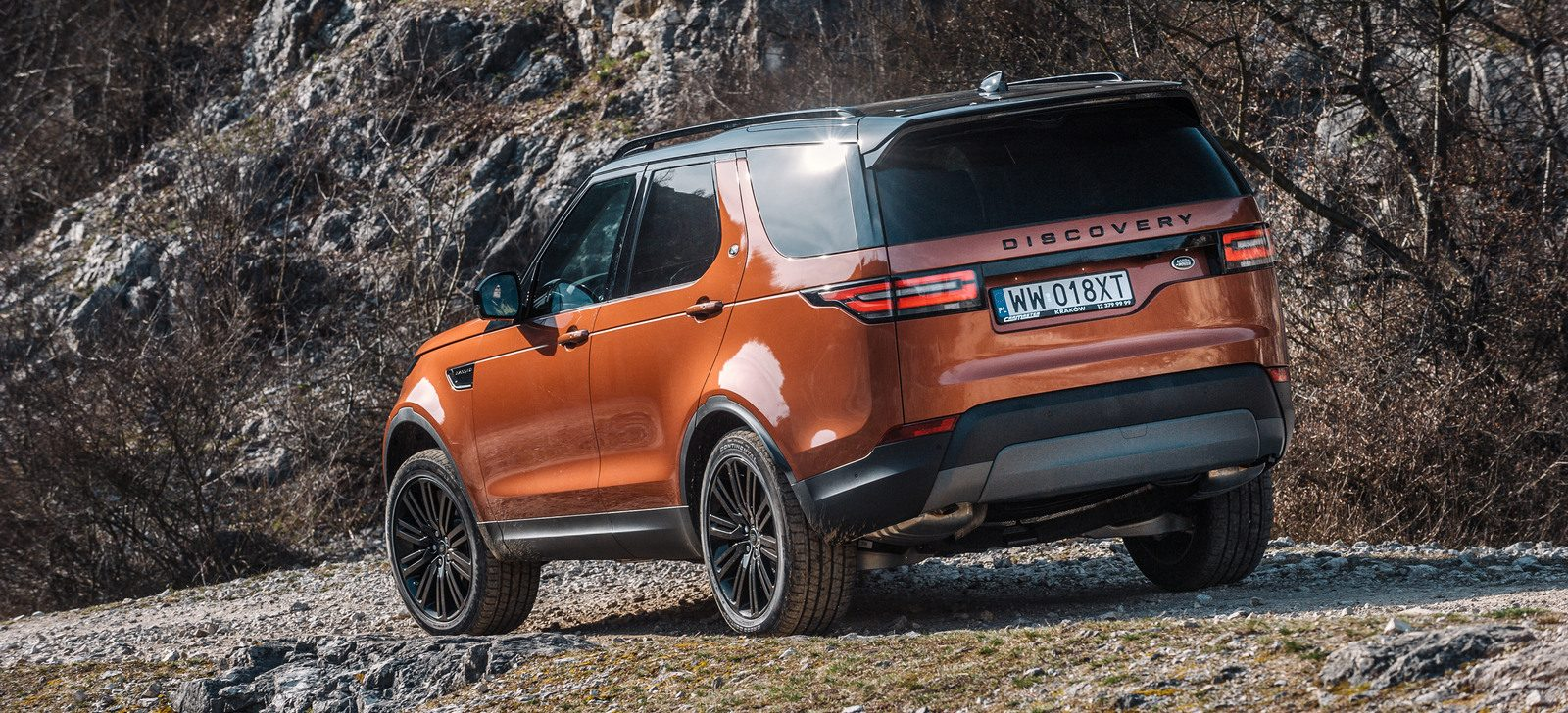 land rover discovery V - test i opinia