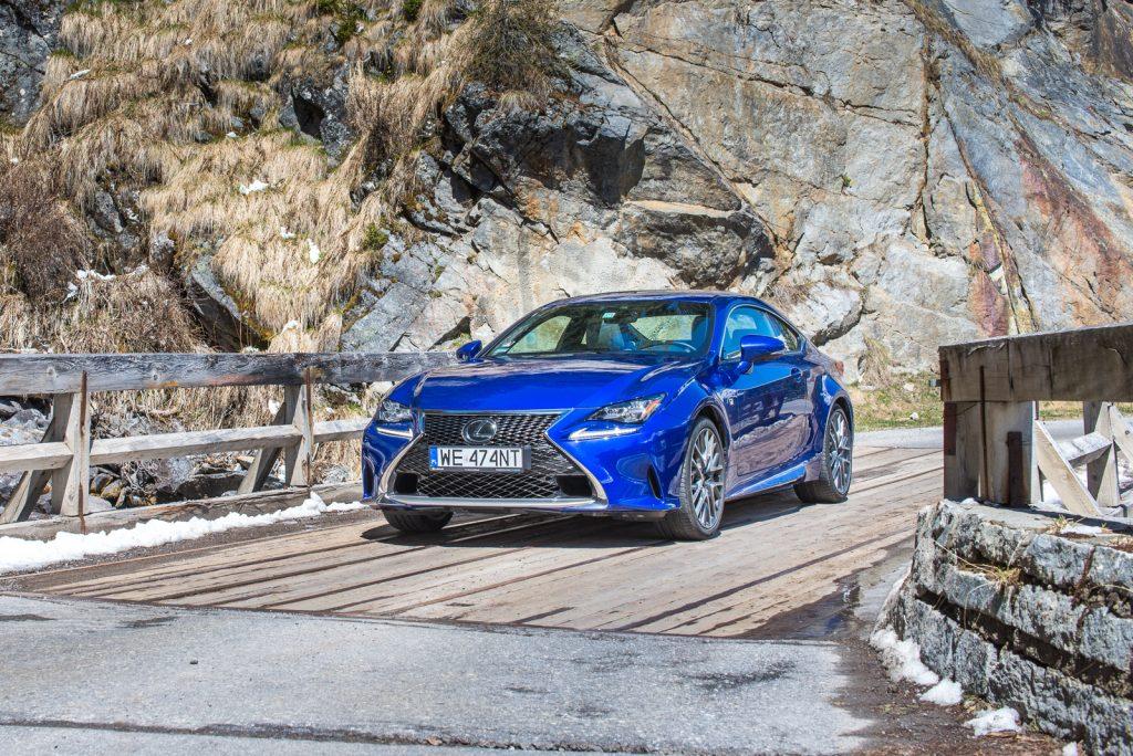 Lexus RC 200t f sport test opinia 19