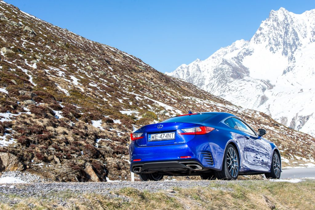 Lexus RC 200t f sport test opinia 32
