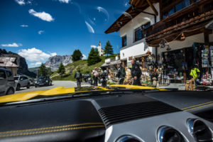 ford mustang w dolomitach 13