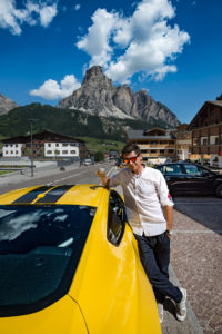 ford mustang w dolomitach 16