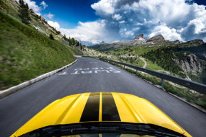 ford mustang w dolomitach 19