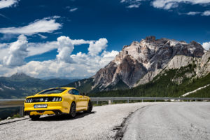 ford mustang w dolomitach 20