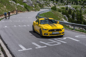 ford mustang w dolomitach 24