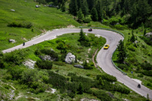 ford mustang w dolomitach 26