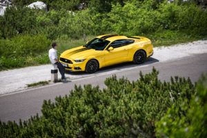 ford mustang w dolomitach 29