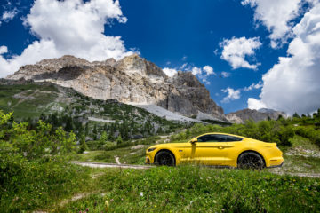 ford mustang w dolomitach 35