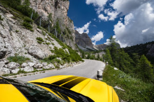 ford mustang w dolomitach 36