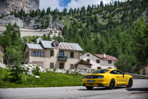 ford mustang w dolomitach 38