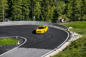 ford mustang w dolomitach 4