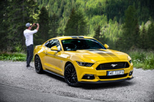 ford mustang w dolomitach 40