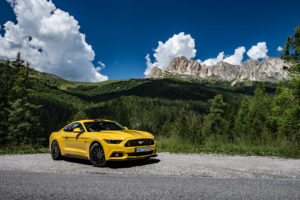 ford mustang w dolomitach 41