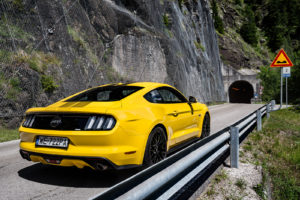 ford mustang w dolomitach 42