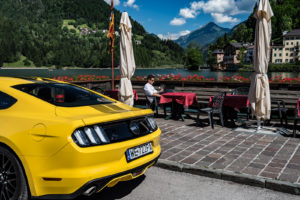 ford mustang w dolomitach 44