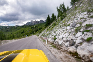 ford mustang w dolomitach 53