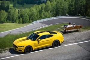 ford mustang w dolomitach 6