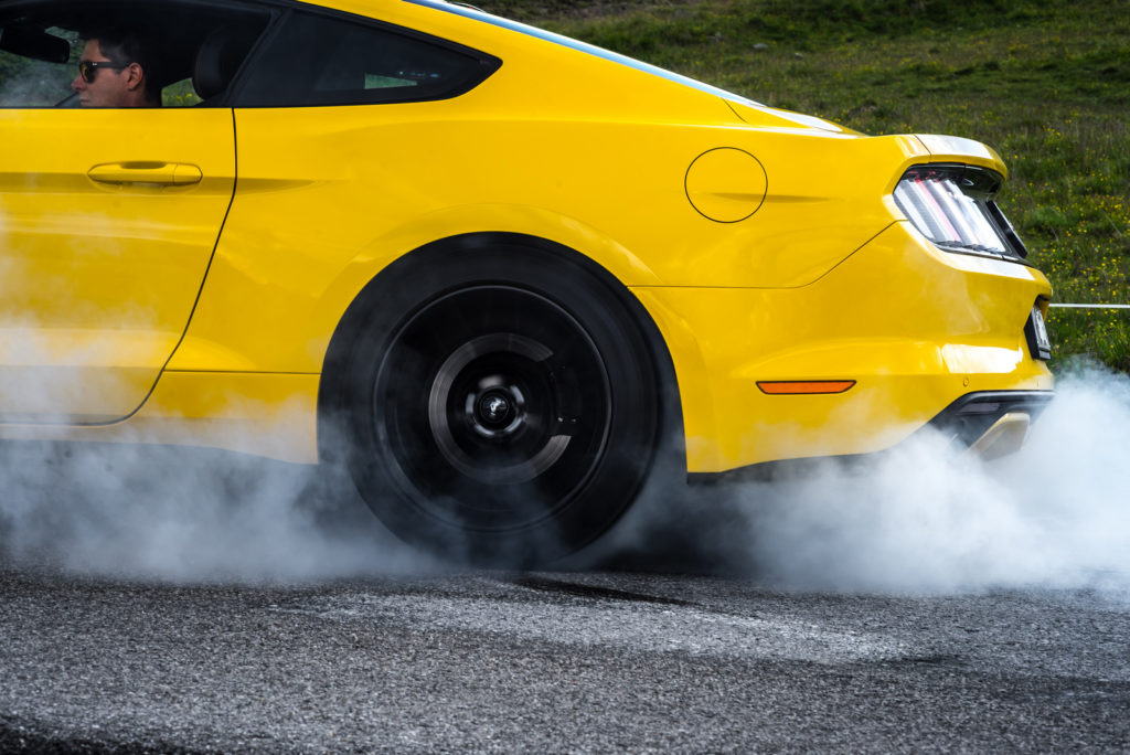Fort Mustang GT (V8) line lock
