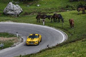 ford mustang w dolomitach 78