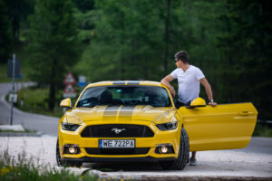 ford mustang w dolomitach 79