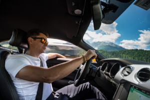 ford mustang w dolomitach 88