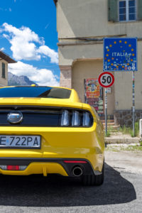 ford mustang w dolomitach 89