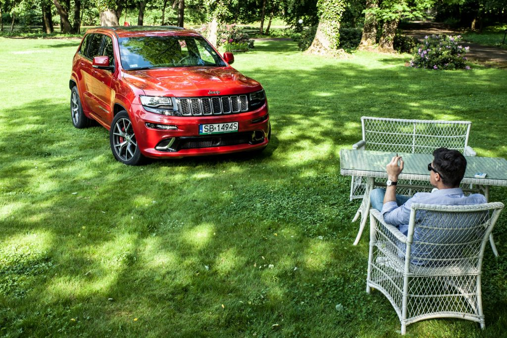 Jeep Grand Cherokee SRT 2017 test opinia 33