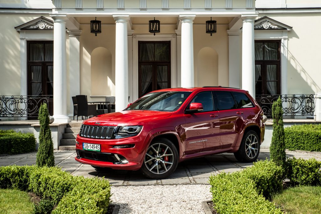 Jeep Grand Cherokee SRT 2017 test opinia 6