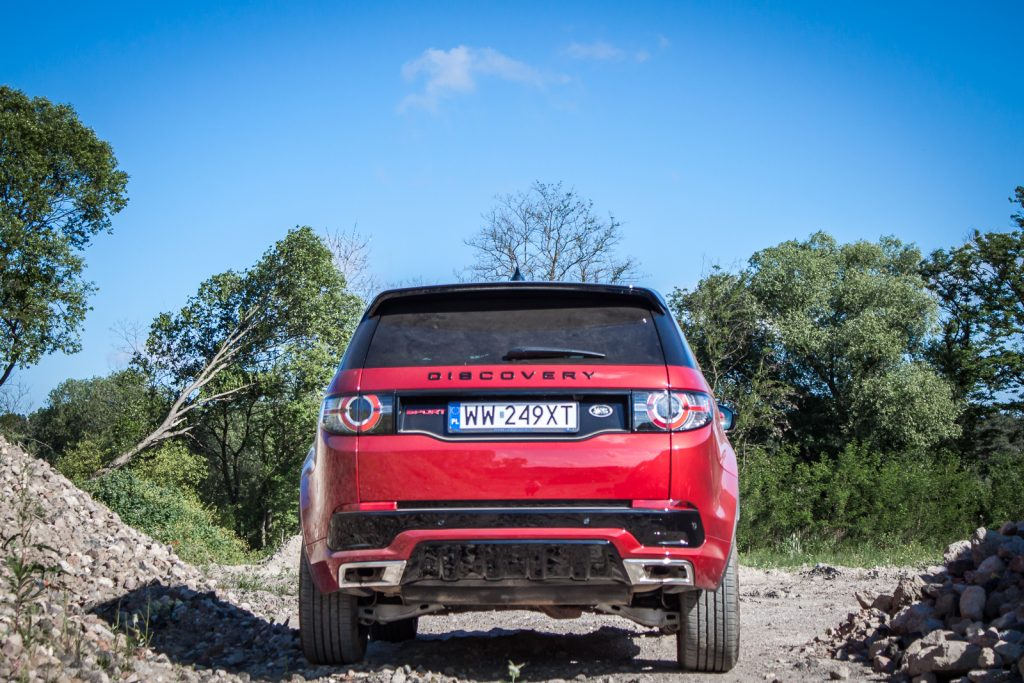 Land Rover Discovery Sport HSE test opinia 15