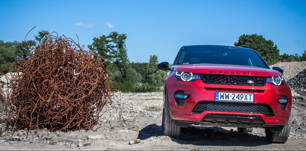 Land Rover Discovery Sport HSE test opinia 17