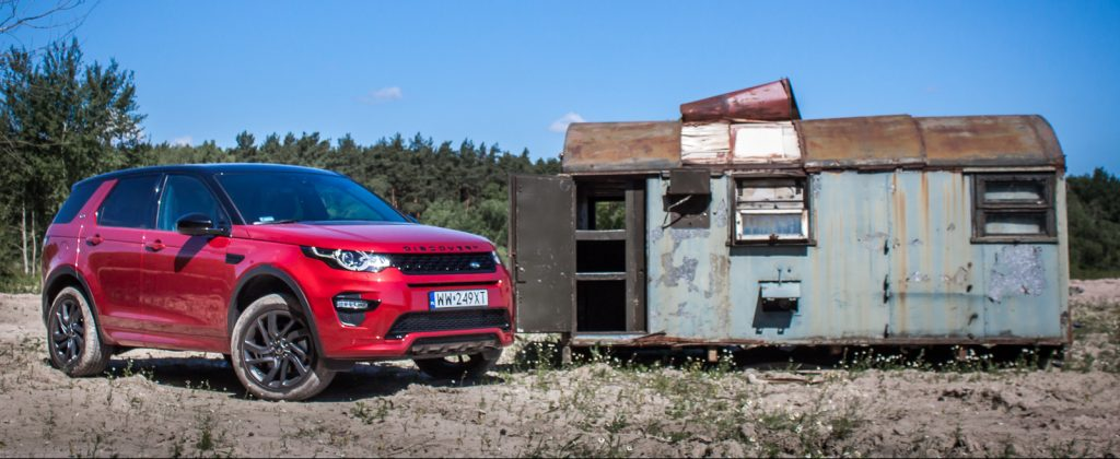 Land Rover Discovery Sport HSE test opinia 19