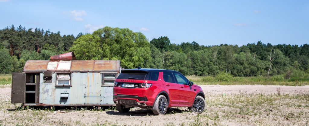 Land Rover Discovery Sport HSE test opinia 20