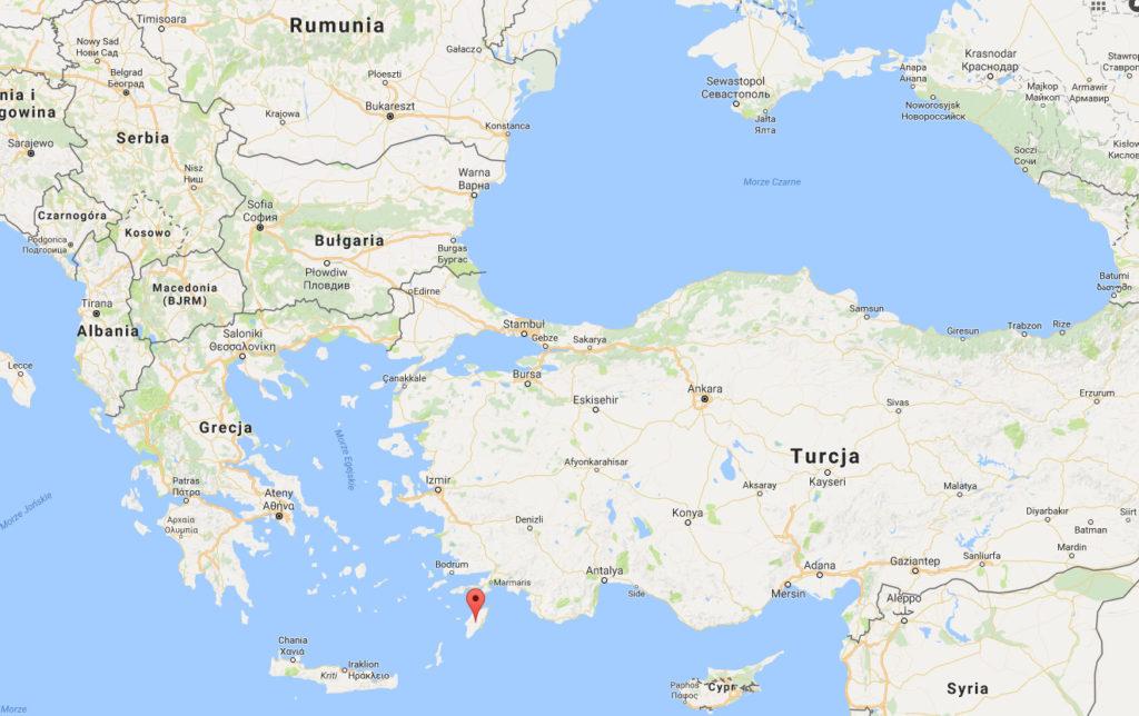 Rodos Grecja