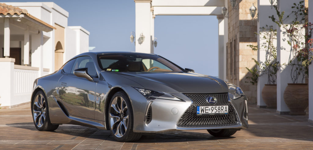 Lexus LC test