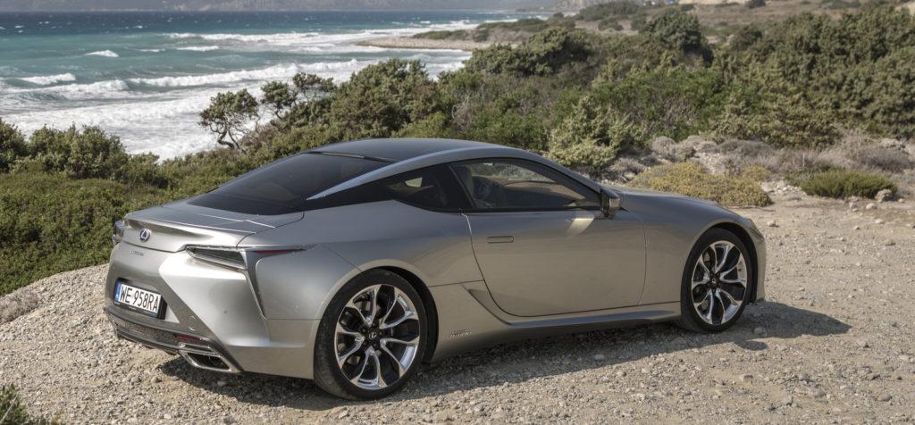 Lexus LC500h zdjecia