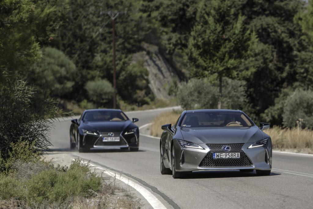 Lexus LC500 i LC500h zdjecia polska opinia 62